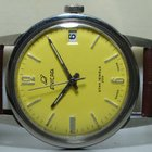 Enicar VINTAGE WINDING SWISS MENS WRIST WATCH RED DIAL