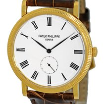 Patek Philippe Gent's 18K Yellow Gold  Ref # 5119 J...
