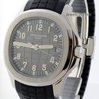 Patek Philippe Jumbo Aquanaut Steel Rubber Mens Watch Box/Pape...