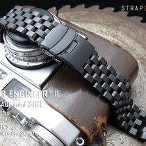 Seiko SKX007 Replacement Bracelet, PVD Black