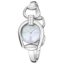 Gucci Damenuhr Horsebit mit Diamantbesatz YA139504