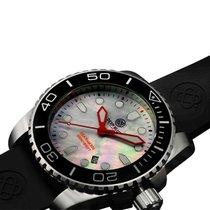 Deep Blue Sea Ram 500 Diving Watch 500m Wr Swiss Quartz Black...
