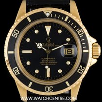 勞力士 (Rolex) 18k Y/G Rare Omani Crest Submariner Date B&P 1680