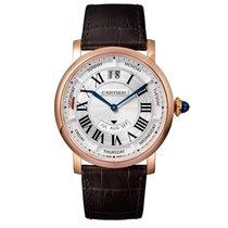 Cartier Rotonde Quartz Mens Watch Ref WHRO0002
