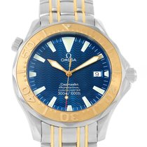 Omega Seamaster Steel Yellow Gold Automatic Watch 2455.80.00
