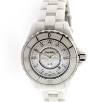 Chanel J12 White Ceramic Diamond Dial - H1628