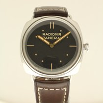Panerai Radiomir 3 Days S.L.C. from 2014 with new strap and B + P