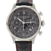 Baume & Mercier Men's  Capeland Stainless Steel 65726