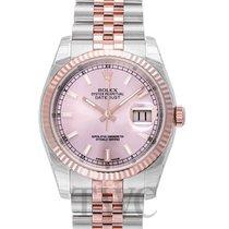 Rolex Datejust Gold/Steel Pink/18k rose gold Ø36 mm - 116231