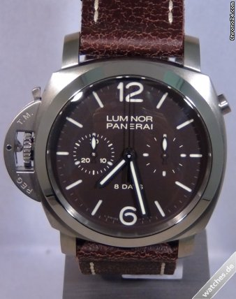 Panerai Luminor 1950 Left - Limited 150 pcs - PAM00345 - 8 Days - Titanium