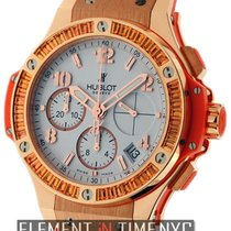 Hublot Big Bang Gold Tutti Frutti 41mm Orange 18k Rose Gold