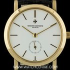 Vacheron Constantin 18k Yellow Gold White Baton Dial Gents...