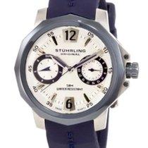 Stuhrling 332.122U6C2 Lady Admiral Swiss Quartz BlUE Watch