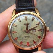 Longines Conquest Heritage calendar Oro Gold automatico 35mm