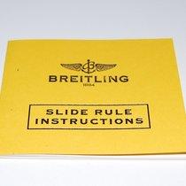 Breitling Hinweise für den Gebrauch des Rechenschiebers