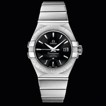 Omega Constellation  Co-Axial 31mm Black Dial T