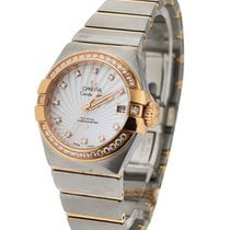 Omega Constellation Co Axial Lady's in 2 Tone with Diamond...