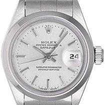 Rolex Ladies Rolex Date Watch 69160 Silver Dial