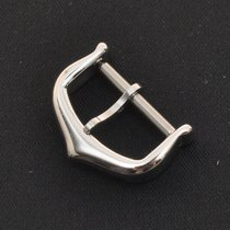 Cartier solid 18k white gold Tang buckle (inner 14mm)