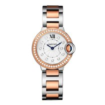 Cartier Ballon Bleu Quartz Ladies Watch Ref WE902076
