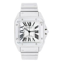 Cartier Santos 100 Automatic Stainless Steel Watch