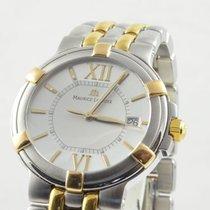 Maurice Lacroix Classic Herren Uhr Stahl/gold Quartz 34mm...