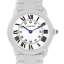 Cartier Ronde Solo Small Stainless Steel Ladies Watch W6701004