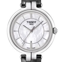 Tissot Flamingo Mother of Pearl Dial Ladies Watch T094.210.16....