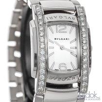 Bulgari Assioma 18k White Gold Quartz Diamonds Ladies Watch 31mm