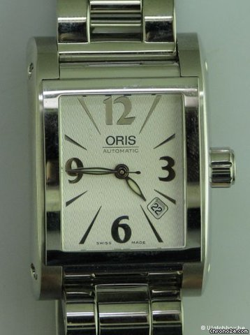 Oris MILES RECTANGULAR DATE