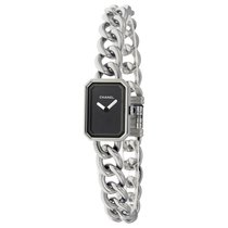 Chanel Premiere Black Dial Stainless Steel Ladies Watch