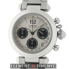 Cartier Pasha Collection Pasha C Chronograph Stainless Steel...