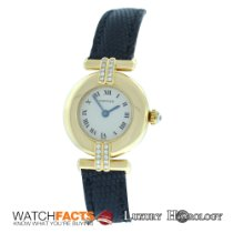 Cartier Authentic Lady's  Colisee 8057911 Diamond 18K...