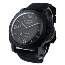 Panerai Luminor 1950 10 Days GMT Power Reserve in Black Ceramic
