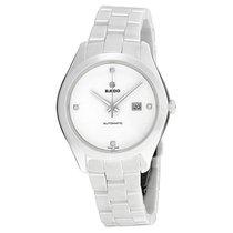 Rado R32258702 Ladies Hyperchrome White Dial White Ceramic Watch