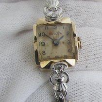 Bulova WW2 ,14ct golden vintage, serviced