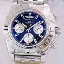 Breitling Chronomat 44 B01 Manufaktur Pilotband black Dial
