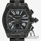 Cartier Black Diamond Cartier Roadster Xl W62020x6 Original...