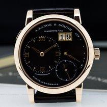 A. Lange & Söhne Lange 1 18K Rose Gold Black Dial