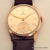 Omega Vintage 9ct Gold English H'marks Original Dial...