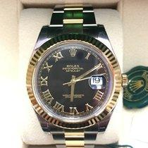 Rolex DateJust 41 mm.116333  Black Roman Dial  2016