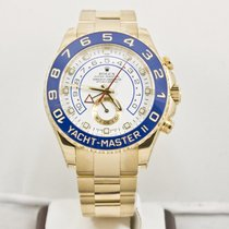 Rolex 18K Yellow Gold Yachtmaster II 116688