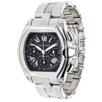 Cartier Roadster W62020X6 Men's Chronograph in Stainless...