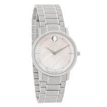 Movado TC Series Ladies Diamond MOP Dial Swiss Quartz Watch...