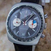 Tissot Navigator Rare Mens Stainless 39mm 1970s Chronograph...