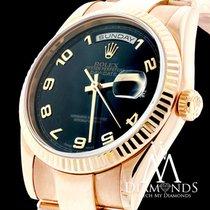 Rolex Presidential Rolex Watch - Day-date 36mm - 118205 Black...