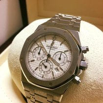 Audemars Piguet Royal Oak Chronographe Dial 39mm White