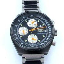 Dugena Chronomatic Day-date Black Herren Uhr Chronograph