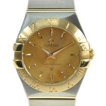 Omega Constellation 18k Gold Steel Gold Quartz 123.20.24.60.08...