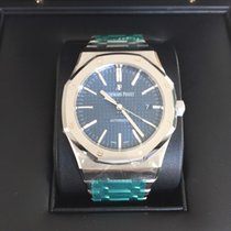 Audemars Piguet Royal Oak  Stainless Steel Blue dial 41 mm...